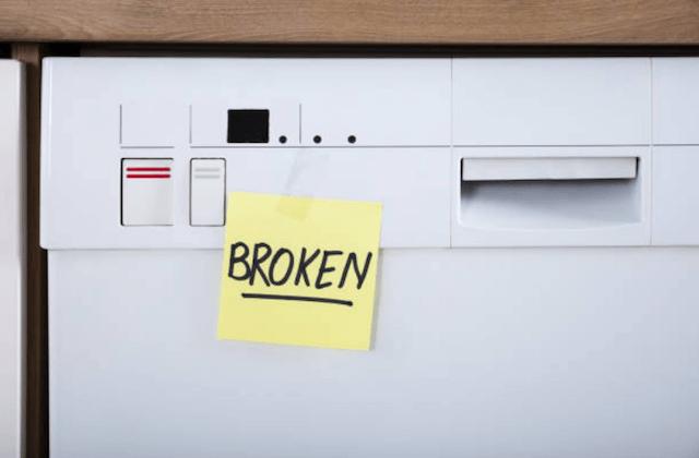 broken dishwasher photo